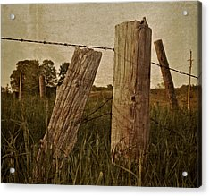 Uprights Acrylic Print by Odd Jeppesen