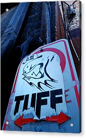 Urban Cover-up Acrylic Print by Steven Milner