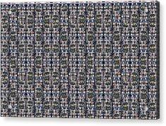 Urban Graphics 000001 Acrylic Print by Dias Dos Reis