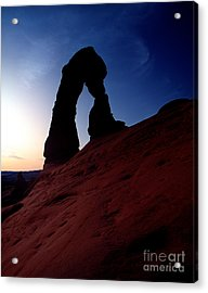 Utah - Delicate Arch 3 Acrylic Print by Terry Elniski