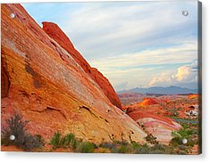 Valley Of Fire - A Pristine Beauty Acrylic Print by Christine Till