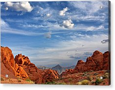 Valley Of Fire Nevada - A Must-see For Desert Lovers Acrylic Print by Christine Till