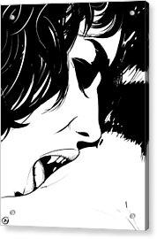 Vampire Kiss Acrylic Print by Giuseppe Cristiano
