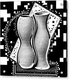 Vases Acrylic Print by Mauro Celotti