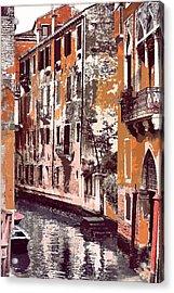 Venetian Serenity Acrylic Print by Greg Sharpe