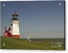 Vermilion Lighthouse - 1287 Acrylic Print by Chuck Smith