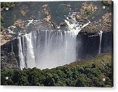 Victoria Falls II Acrylic Print by Christian Heeb