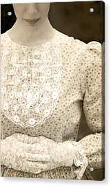 Victorian Dress Acrylic Print by Joana Kruse