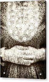 Victorian Hands Acrylic Print by Joana Kruse