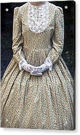 Victorian Lady Acrylic Print by Joana Kruse