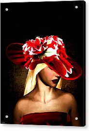 Victorian Times Acrylic Print by Lourry Legarde