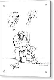 Vietnam War Art-6 Acrylic Print by Gordon Punt