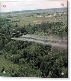 Vietnam War, Defoliation Mission Acrylic Print by Everett