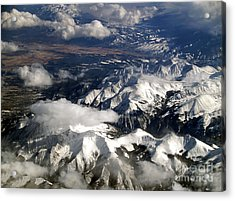 View From Above II Acrylic Print by Patricia Griffin Brett