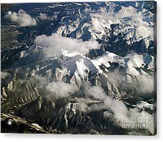 View From Above Acrylic Print by Patricia Griffin Brett