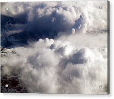 View From Above V Acrylic Print by Patricia Griffin Brett