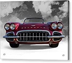 View From Cloud 9 Acrylic Print by Douglas Pittman