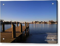 Acrylic Print featuring the photograph View From Riverside Park by Joel Witmeyer