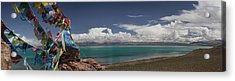 View Of Freshwater Lake Manasarovar Acrylic Print by Phil Borges