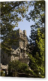 View Of Gillette Castle Acrylic Print by Todd Gipstein