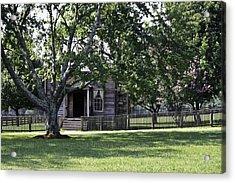View Of Jones Law Offices Appomattox Virginia Acrylic Print by Teresa Mucha
