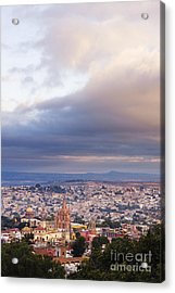 View Of Old World City Acrylic Print by Jeremy Woodhouse