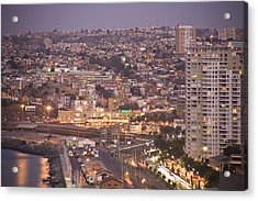 Views From Paseo Atkinson, On Cerro Acrylic Print by Richard Nowitz