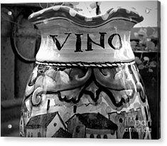 Vino Acrylic Print by Tanya  Searcy