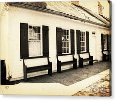 Vintage Building 2 Acrylic Print by Emily Kelley
