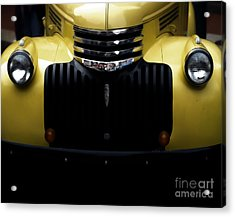 Vintage Chevy Pickup Truck Acrylic Print by Steven  Digman