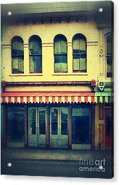 Vintage Store Fronts Acrylic Print by Jill Battaglia