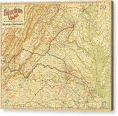 Virginia Battlefields Acrylic Print by Roberto Prusso