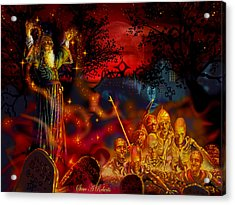 Von The Nacromancer Acrylic Print by Steve Roberts