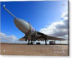Vulcan Xh558 Acrylic Print by Clare Scott