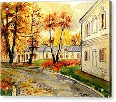 W 19 Moscow Acrylic Print by Dogan Soysal