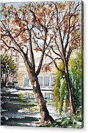 W 43 Moscow Acrylic Print by Dogan Soysal