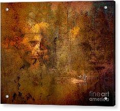 Waiting Acrylic Print by Arne Hansen