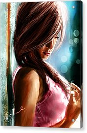 Waiting For U Acrylic Print by Kiran Kumar