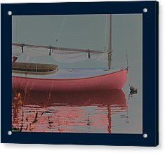 Waiting To Sail Acrylic Print by Rene Crystal
