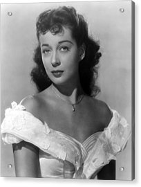 Wake Of The Red Witch, Gail Russell Acrylic Print by Everett