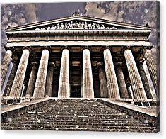 Walhalla ... Acrylic Print by Juergen Weiss