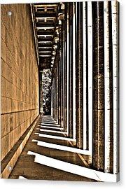 Walhalla Colonnade ... Acrylic Print by Juergen Weiss