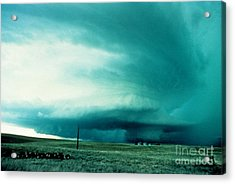 Wall Cloud Acrylic Print by Science Source