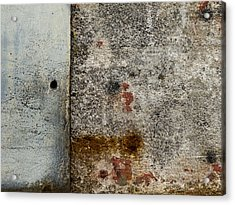 Wall Texture Number 10 Acrylic Print by Carol Leigh