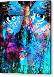 Wandering Thoughts - Untitled Desire Acrylic Print by Fania Simon