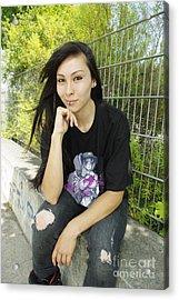 Wanita X Airforcetuan IIi Acrylic Print by Tuan HollaBack