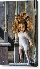 Wanna Go Upstairs And Play Acrylic Print by JC Findley