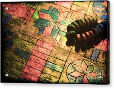 War Games Acrylic Print by Judi Bagwell