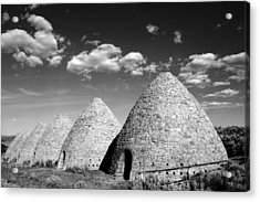 Ward Charcoal Ovens Acrylic Print by Scott McGuire