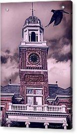 Warwick City Hall Acrylic Print by Lourry Legarde